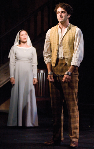 Measure for Measure at The Old Globe, San Diego with Stephanie Fieger Klein as Isabella